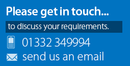 Get in Touch with Out of the Blue, Derby 01332 552331