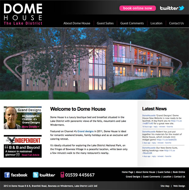 Dome House Lake District